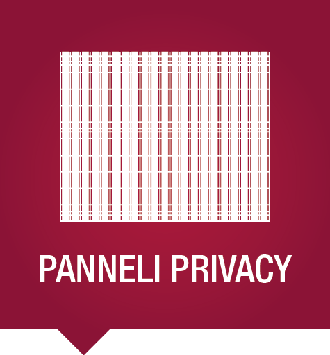 Panneli per creare Privacy