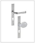 serratura integrata con pomello per cancelli horizen