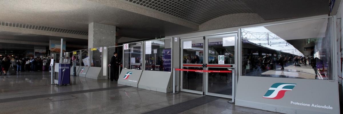 Betafence publifor stazione termini alta sicurezza for Affitto ufficio roma stazione termini