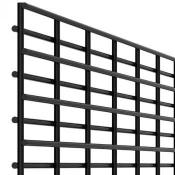 High security fencing panels