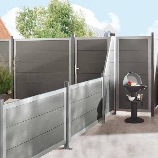 Horizen privacy swing gate